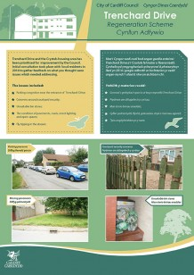 Trenchard Drive Consultation Boards March 2015
